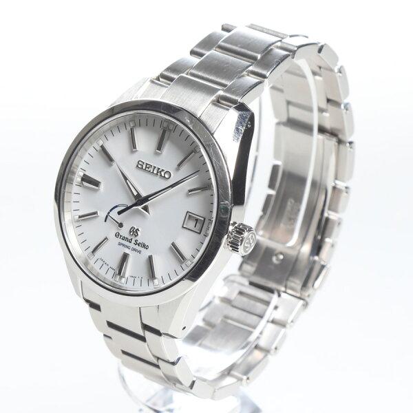 中古 腕時計メンズ男性グランドセイコーユーズド中古化粧箱付き保証書付きsbga099
