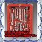 ESCO(エスコ)[54個組]シャッター付工具セットEA612SC-54