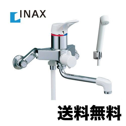 BF-M135S INAXイナックスシャワー水栓サーモスタットシャワー金具壁付タイプミーティスシリーズスプレーシャワー吐水口長