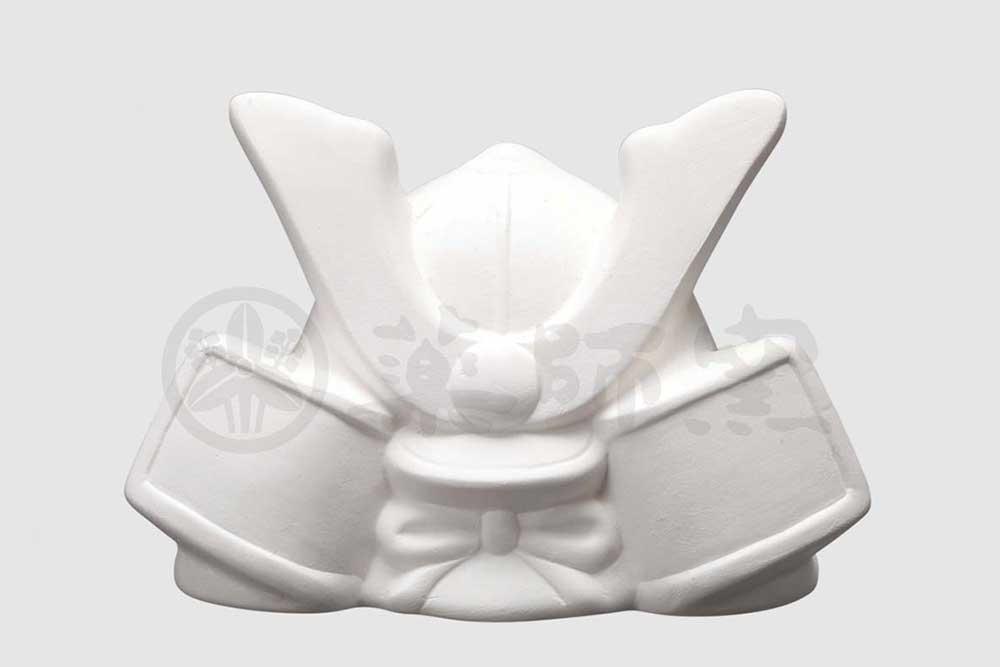 陶器 キット/ お絵かき兜(貯金箱) /夏休み工作 自由研究 お店のマスコット自作