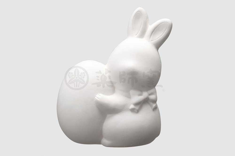 陶器 キット/ お絵かきイースターうさぎ(貯金箱) /夏休み工作 自由研究 お店のマスコット自作