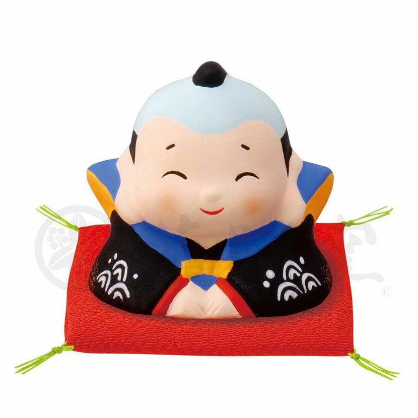 縁起 おもてなし 商売繁盛/ 錦彩福助(ざぶとん付) /インテリア 置物 プレゼント 贈り物