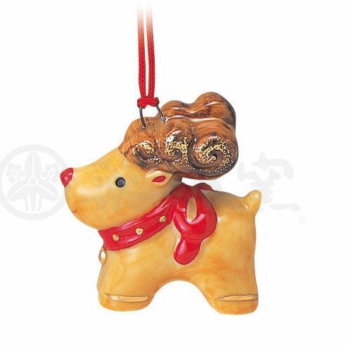 クリスマス 飾り インテリア/ 彩絵ツリーオーナメント(トナカイ) /かわいい プレゼント 贈り物