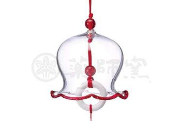 ビードロ風鈴(赤)