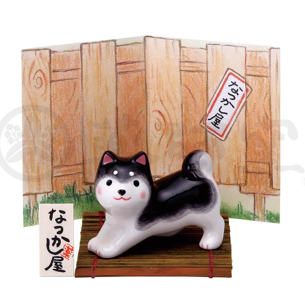 犬グッズ 可愛い 柴犬/ わんこ日和 黒柴(のび) /インテリア 置物 プレゼント 贈り物