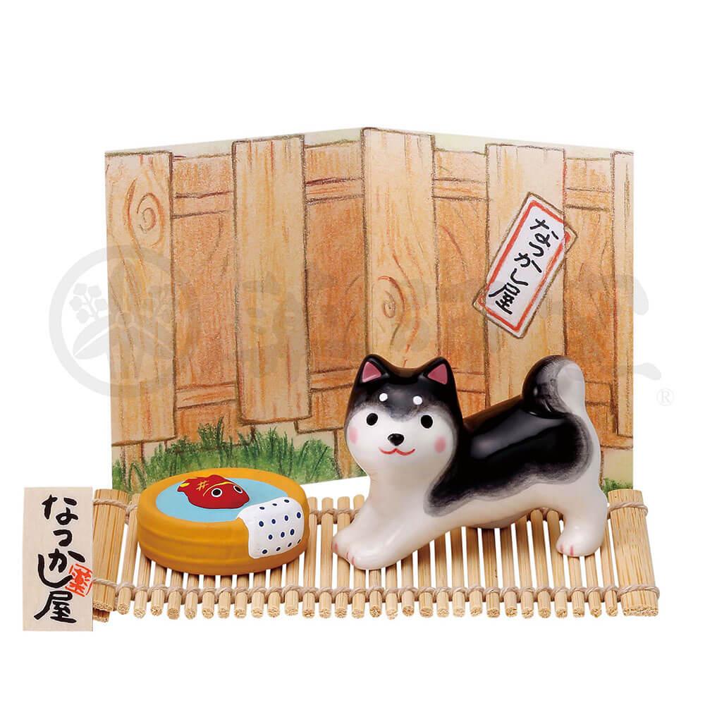 犬グッズ 可愛い 柴犬/ わんこ日和 黒柴(たらい金魚) /インテリア 置物 プレゼント 贈り物