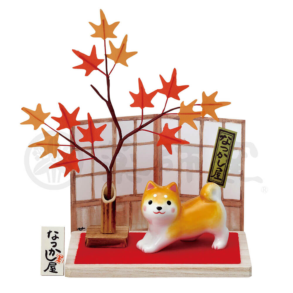 犬グッズ 可愛い 柴犬/ わんこ日和 柴犬(もみじ) /インテリア 置物 プレゼント 贈り物