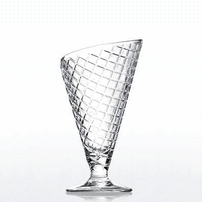 ガラス デザート グラス/ ジェラート /パフェ アイス かき氷 食器 業務用グラス ガラス業務用 店舗用 飲食店用 カフェ レストラン 家庭用
