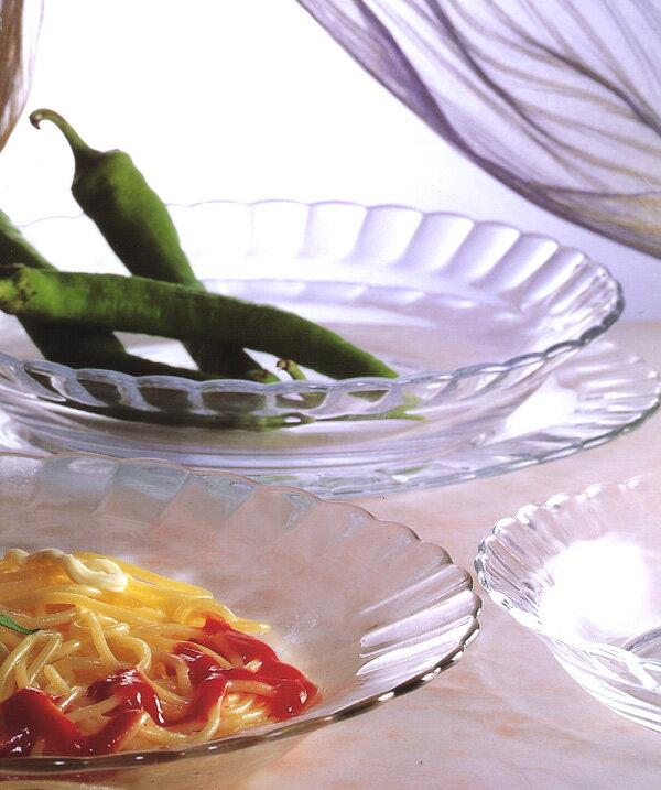 熱湯 レンジ 食洗機OK デュラレックス パリスディナープレート ガラス皿 DURALEX