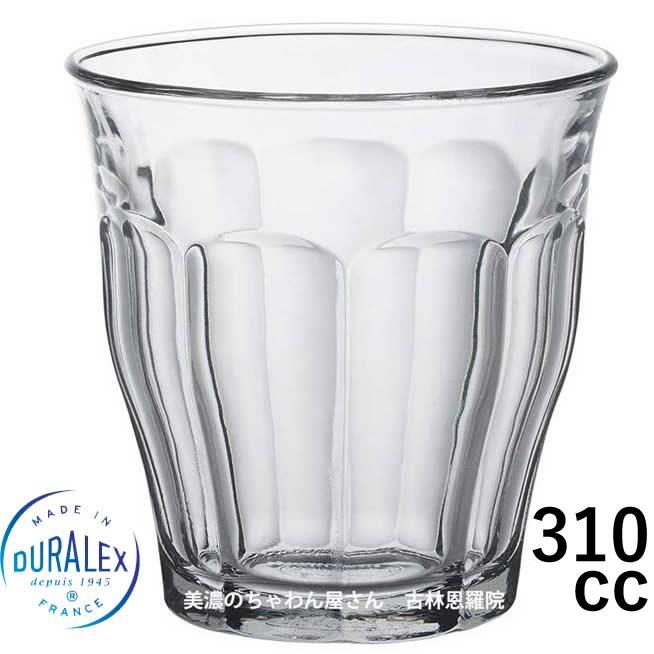 デュラレックス DURALEX/ ピカルディ 310cc /グラス タンブラー 業務用 家庭用 ホット カフェ おしゃれ ガラス コップ 強化 レンジOK 熱湯OK 割れにくい グッドデザイン賞受賞
