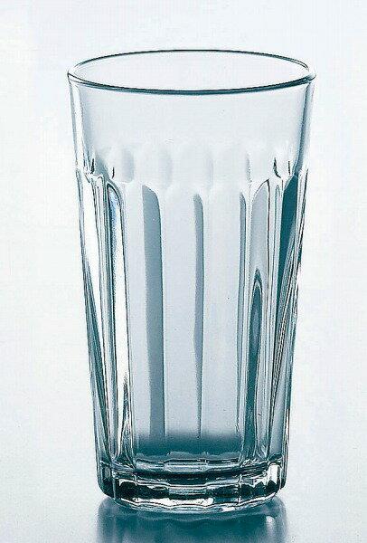 グラス コップ タンブラー/ Libbey(リビー)パネルタンブラー 355cc /業務用 家庭用 お酒 ビール ジュース カクテル デザイン おしゃれ おもてなし
