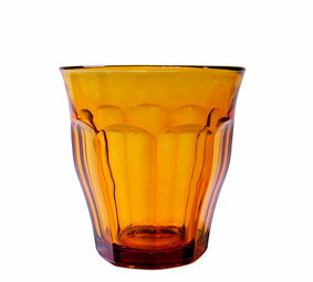 ガラス コップ 強化/ 熱湯 レンジ 食洗機OK デュラレックスピカルディアンバー 220cc グラス タンブラー DURALEX /業務用 家庭用 ホット カフェ おしゃれ