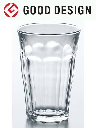 熱湯 電子レンジ 食洗機OK ガラス グラス コップ タンブラー 強化/ DURALEX デュラレックス ピカルディ 360cc /業務用 家庭用 ホットドリンク 普段使い おしゃれ