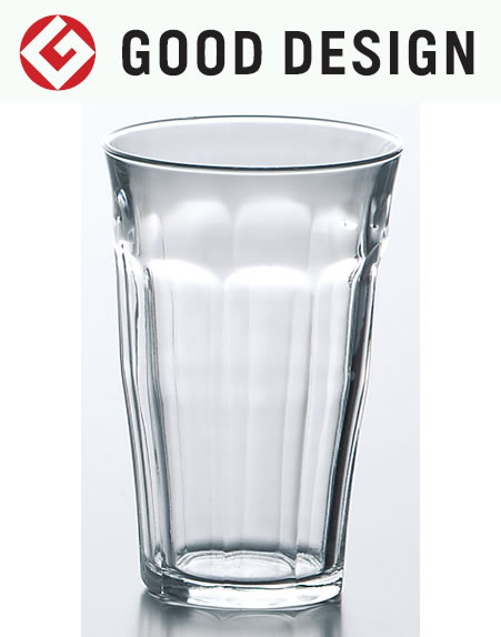 熱湯 電子レンジ 食洗機OK ガラス グラス コップ タンブラー 強化/ デュラレックス ピカルディ 500cc /業務用 家庭用 ホット 普段使い おしゃれ カフェ 飲食店