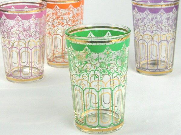 グラス コップ タンブラー/ デュラレックス モロッコグラス グリーン /業務用 家庭用 カフェ おしゃれ