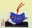 陶器のぬくもりが感じられる元気にすくすくと育って欲しい気持ちを込めた五月人形錦彩鯉のぼり...