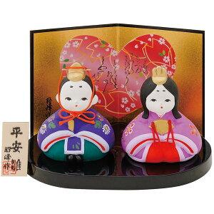 Hina Puppe kompakte Keramik niedlich Hina Puppe / Heian Douchi Ura Küken / Miniatur erster Satz Hina Puppe Hina Puppe Dekoration