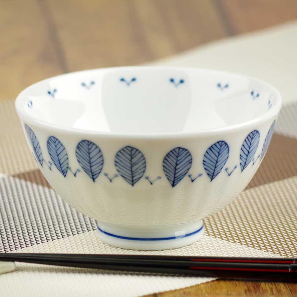 軽量 薄手 白磁 茶わん/ ハーブミント 茶碗 大平 /食洗機OK 電子レンジOK 家庭用 業務用 ナチュラル食器