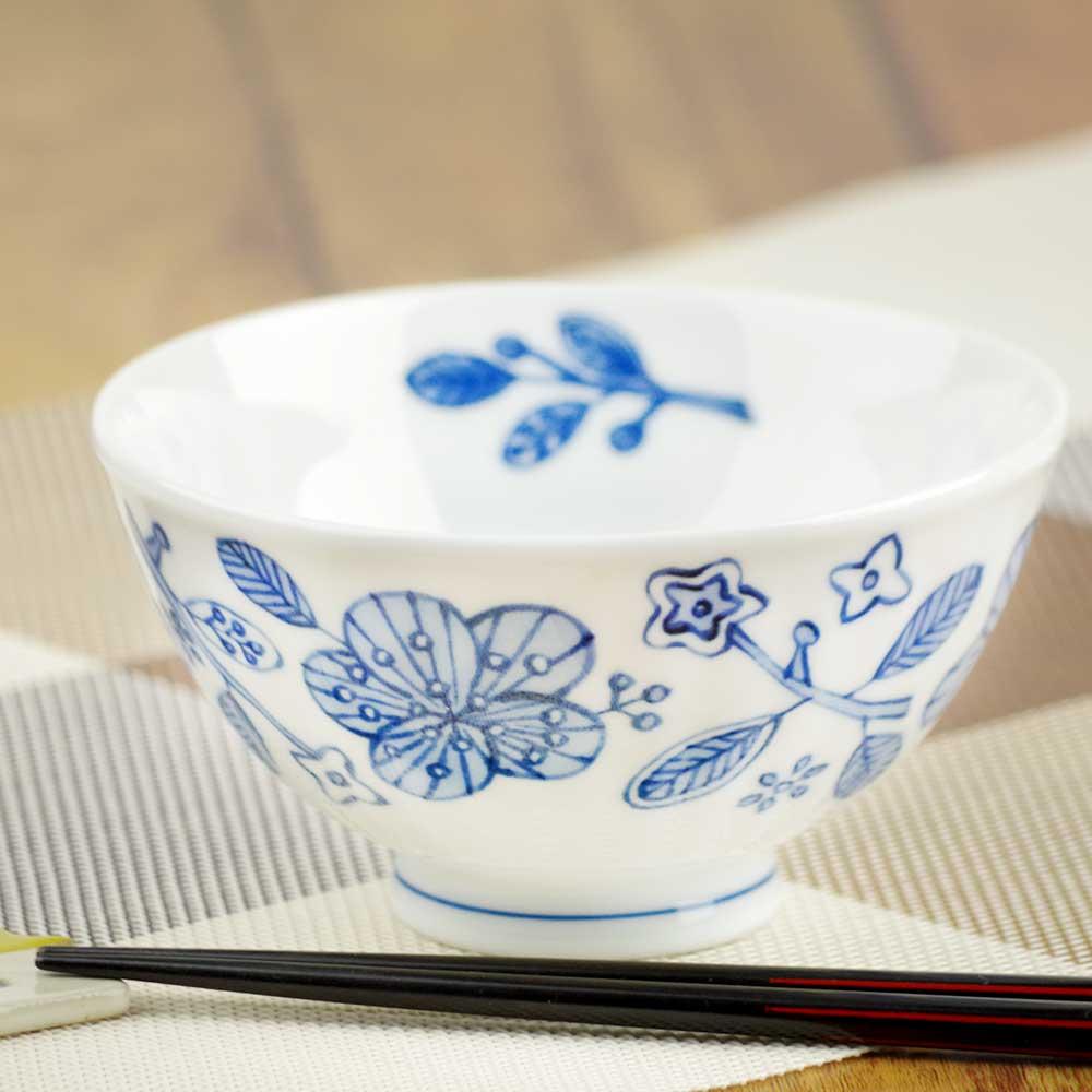 軽量 薄手 白磁 茶わん/ ぽえむ 茶碗 大平 /食洗機OK 電子レンジOK 家庭用 業務用 ナチュラル食器