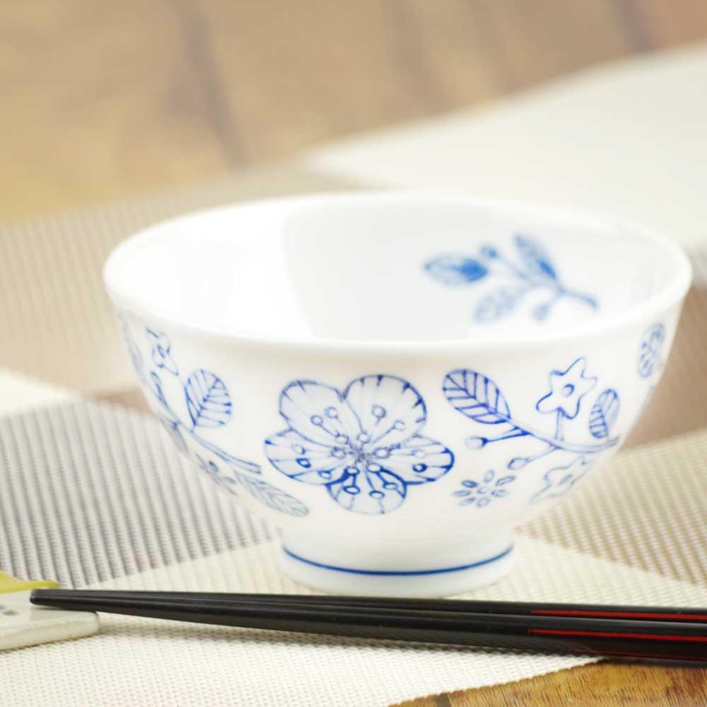 軽量 薄手 白磁 茶わん/ ぽえむ 茶碗 /食洗機OK 電子レンジOK 家庭用 業務用 ナチュラル食器