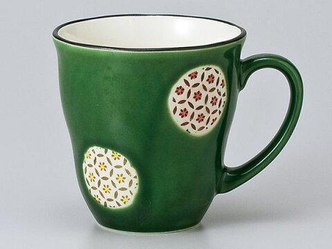 マグカップ おしゃれ/ オリベ丸紋軽量マグカップ /業務用 家庭用 コーヒー カフェ ギフト プレゼント 贈り物