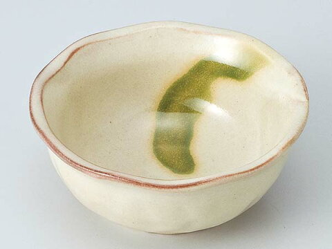 和食器 小付 珍味 小鉢/ 志野オリベ流小鉢 /陶器 業務用 家庭用 Small Appetizer Bowl