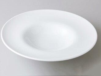 [西式餐具圓盤子湯盤]自由的25cm帽子型湯