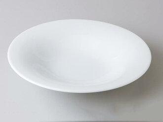 [西式餐具圓盤子湯盤]自由的28cm反型湯