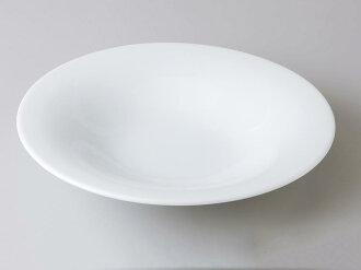 [西式餐具圓盤子湯盤]自由的25cm反型湯