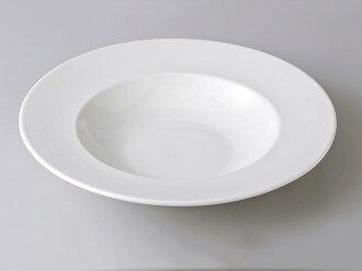 [西式餐具圓盤子湯盤]wish 27cm湯銘牌