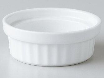 【洋食器カップスフレ小さめの器】レンジスタック楕円31/2″スフレ
