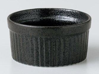 【洋食器カップスフレ小さめの器】スフレ5黒耀