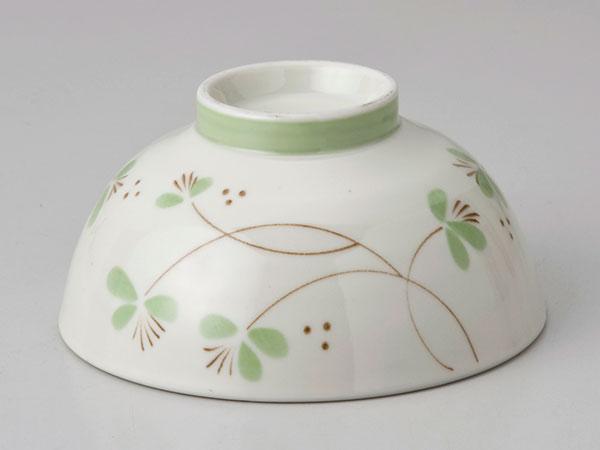 かる〜い軽量ダイエット茶碗 フラワー緑<5月22日頃 入荷予定>