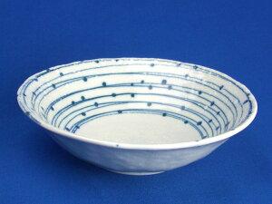 【和食器】【中鉢】水玉ウズ5.0浅鉢