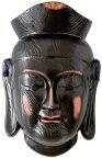 陶器の仏像 ミロク菩薩面 大