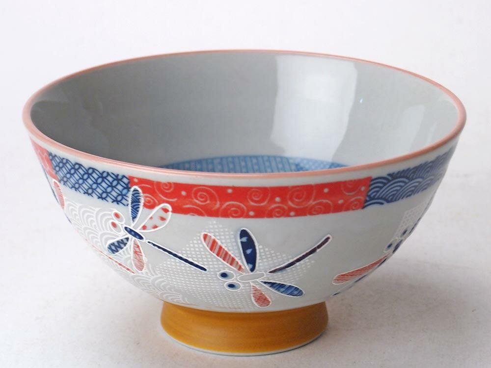 市松とんぼ茶碗 中平