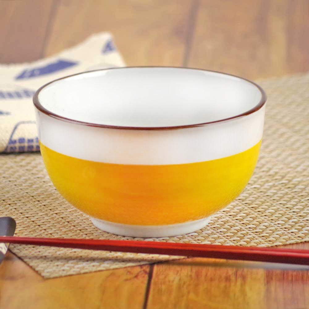 和食器 多用丼 小どんぶり 多用碗/ 黄釉4.8多用碗 /多用丼 どんぶり 鉢 食器 おしゃれ うどん そば ラーメン 業務用