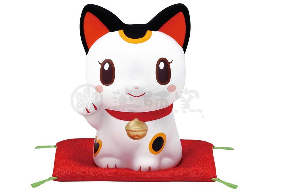 置物 インテリア ネコ 猫 金運 かわいい / 錦彩鈴音お金招き猫 /にしだあつこ 雑貨 kawaii 開店祝い 母の日 プレゼント 贈り物