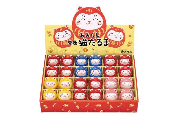 佛法公仔Omikuji貓咪貓好運祝福可愛/ Ayae Omikuji貓咪好運貓擺件套裝/ kawaii幸運禮物