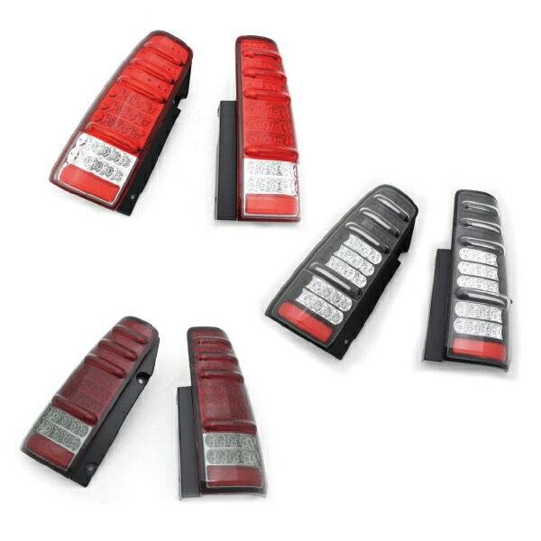 ジムニーライトエムブロLEDテールランプ左右セットレッド/ブラック/レッドスモークJB23MBRO