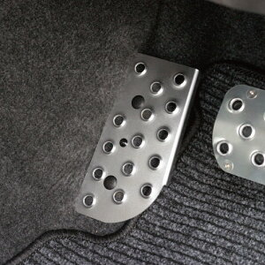 ジムニー インテリア AT車用 ドライバー用 フットレスト カラーアルマイト シルバー レッド アピオ APIO