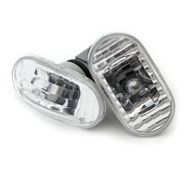 ジムニーライトサイドウインカーランプクリスタル&クロームバルブウエッジ球ジムニーJB231-8型用