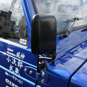 84701-80200-5PKフェンダーミラー運転席側(ブラック)JA11-3型・4型・5型(スズキ純正)