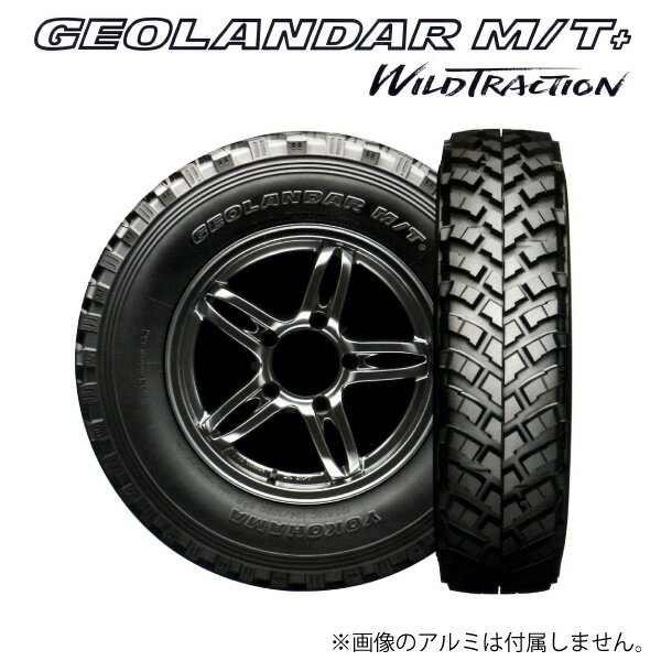 GEOLANDAR M/T+ 195R16C WILD TRACTION