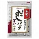 AJINOMOTO 味の素 本造りだしパックかつお金ラベル 500g×12袋