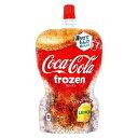 【コカ・コーラ】コカ・コーラ フローズンレモン パウチ 125g  6本