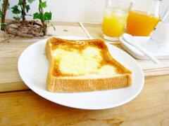 白い食器 とってもシンプル トーストディッシュ 19.7cm【メタ皿 アウトレット 中皿 トー...