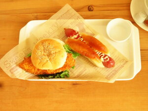 プレート サンドイッチ スクエア モーニング