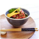 超軽量 藍ボーダー 小丼 13.1cm 美濃焼 日本製 陶器 和食器 ...