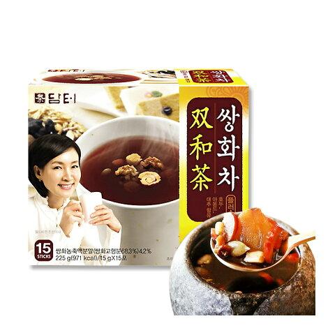ダムト サンファ茶 15g×15包【粉末スティック】★粉末茶 /健康茶 /韓国茶 /韓国お茶 /韓国食品